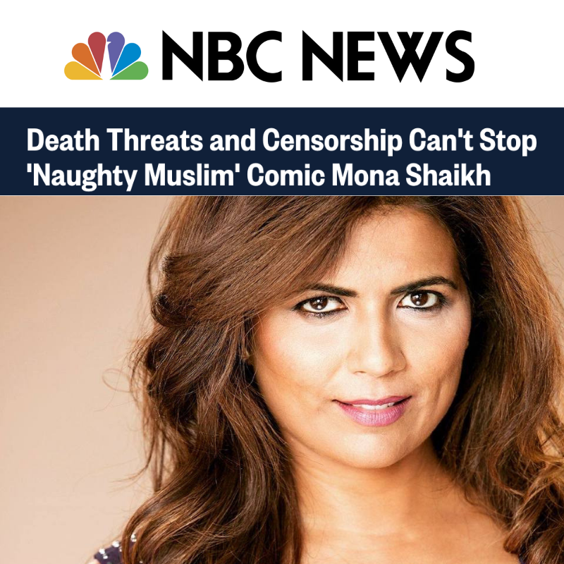 Death Threats and Censorship Can't Stop 'Naughty Muslim' Comic Mona Shaikh