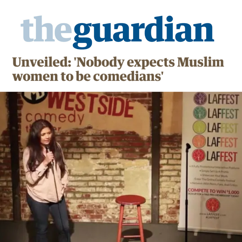 Unveiled: 'Nobody expects Muslim women to be comedians'