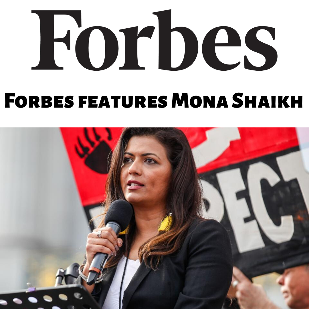 Forbes Features Mona Shaikh